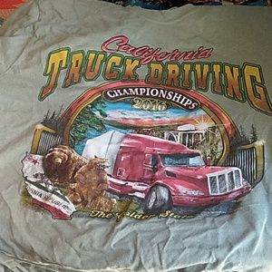 Port and Company Shirts - Commemorative Truck Driving Championships Tee